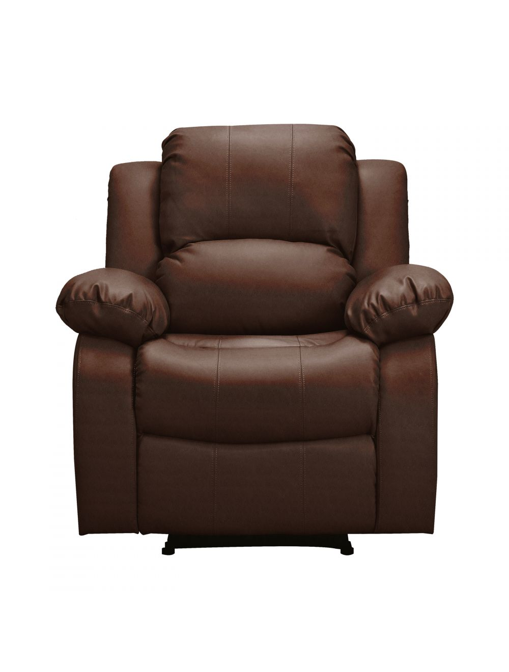 Prime Athon Leather 3 1 Seater Recliner Armchair And Sofa Set Mahogany Brown Theyellowbook Wood Chair Design Ideas Theyellowbookinfo